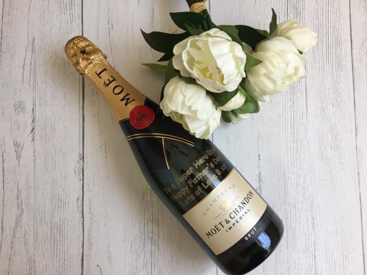 Personalised Moet Champagne GiftsOnline4U fathers day ideas