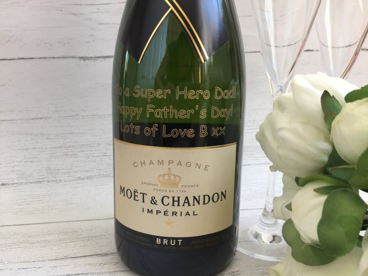 Personalised Moet Champagne GiftsOnline4U for celebrations