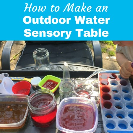 Outdoor Water Sensory Table play ideas for kids thumbnail