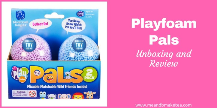 playfoam learning resources collectible toy unboxing