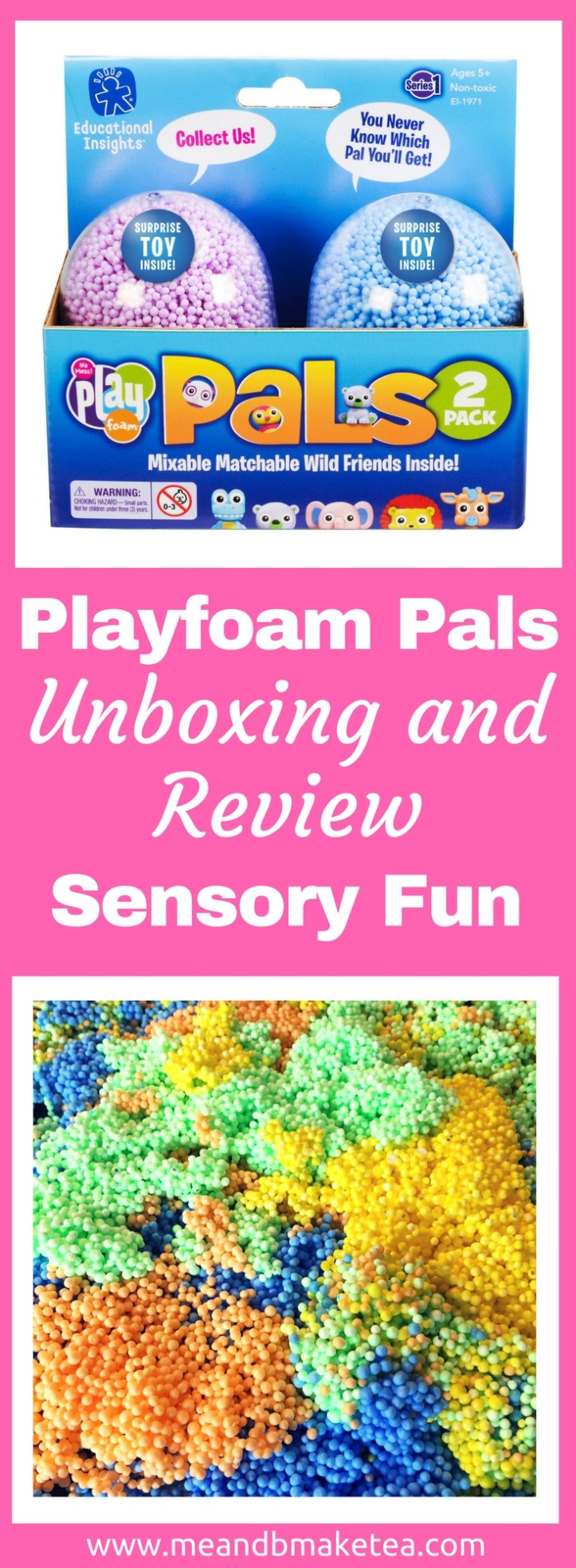 Collectible Sensory Fun With Playfoam Pals!
