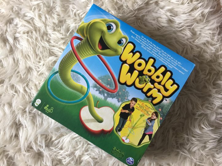 Our review of wobbly worm game by spinmaster