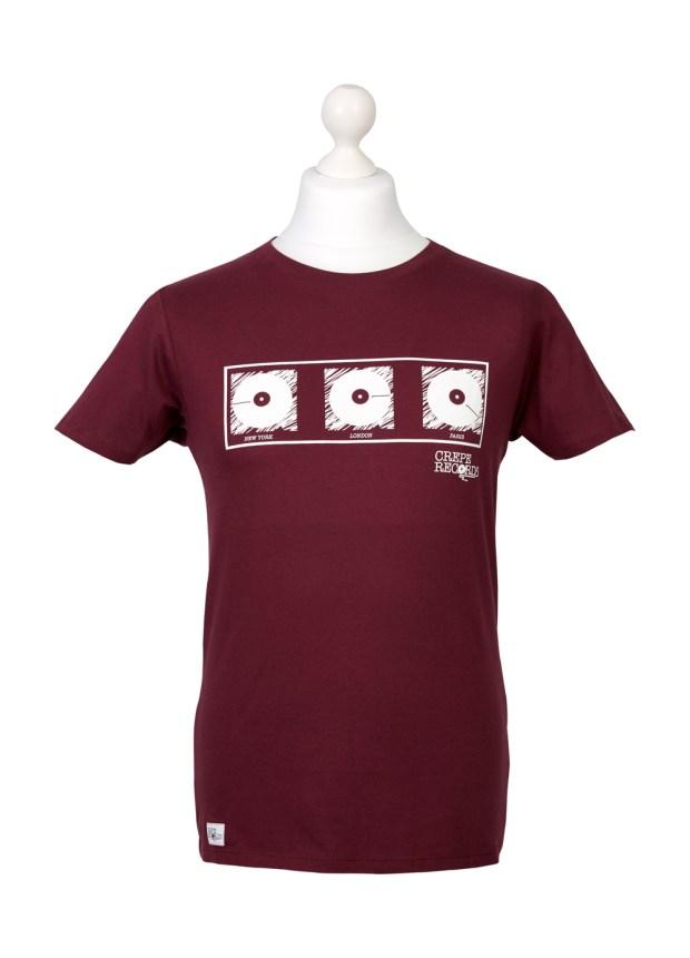 Men's Red T-shirt – London Paris New York