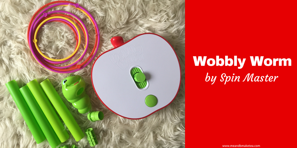 """Spin Master Kids enfants Wobbly Worm 6036368 Wobbly Worm /""""Fun Game"""