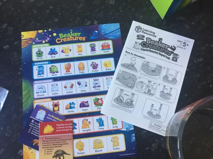 beaker creature classification guide