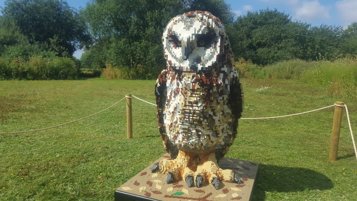 slimbridge wwt wildlife centre lego brick animal trail review owl figure