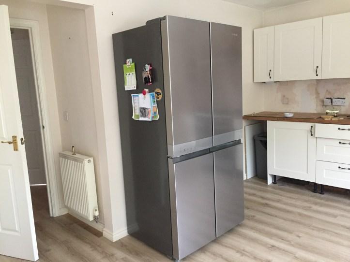 Hotpoint Active Quattro HQ9B1L American Fridge Freezer review