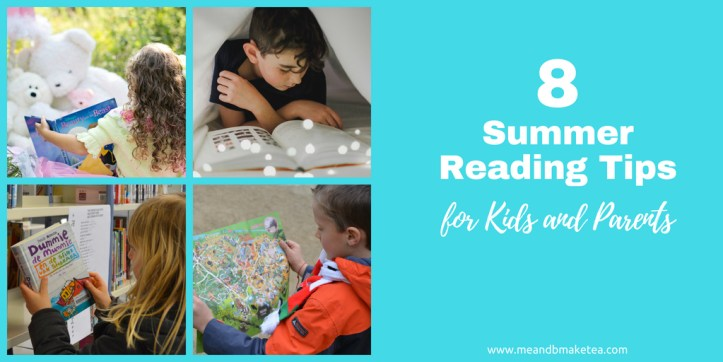 8 Summer Reading Tips for Kids Who Are Reluctant to Read!