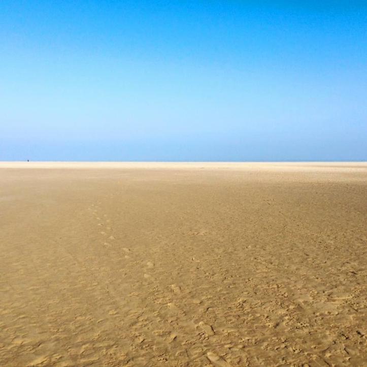 Holkham Beach in Wells-next-the-Sea