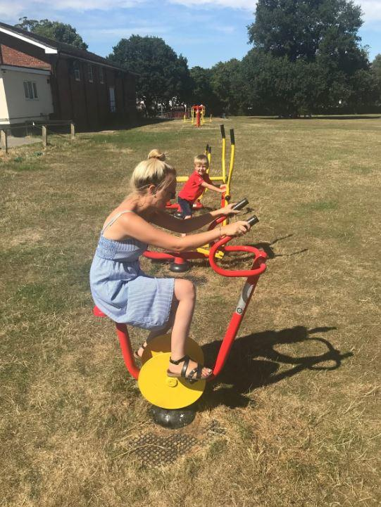 family days out braintree essex Rayne station playground