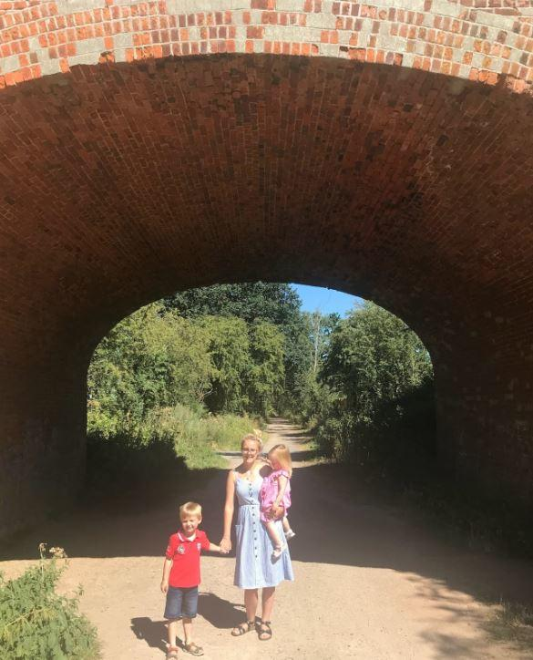 family days out braintree essex Rayne station tunnel