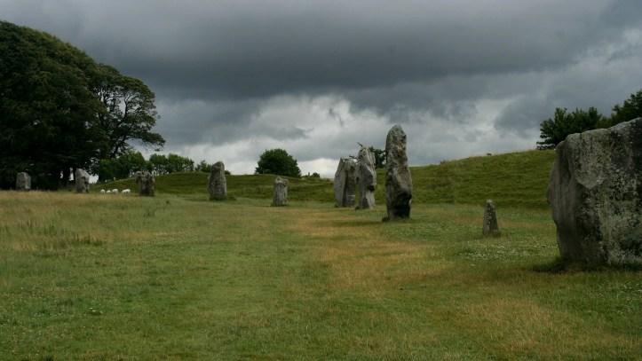 avebury stones and village