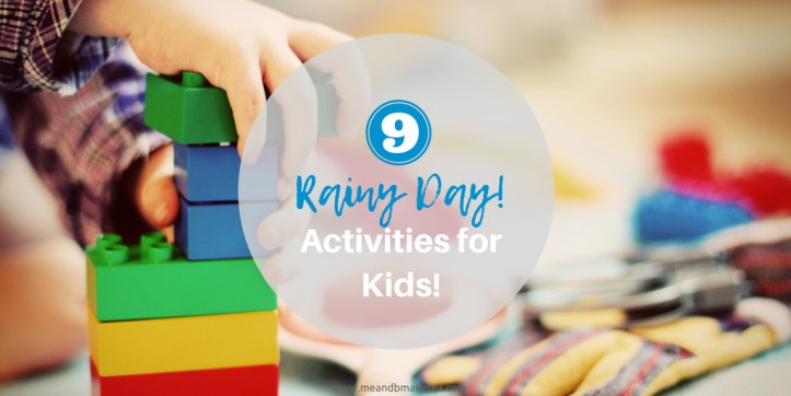 9 rainy day activities for kids that cost next to nothing