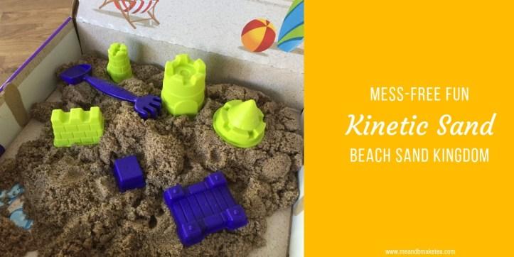 Kinetic Sand Beach Sand Kingdom review