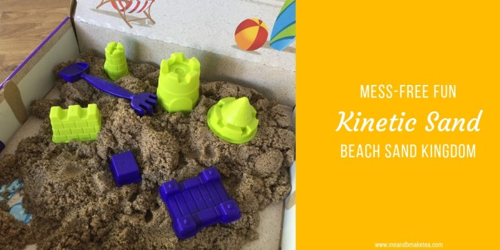 Kinetic Sand Beach Sand Kingdom review