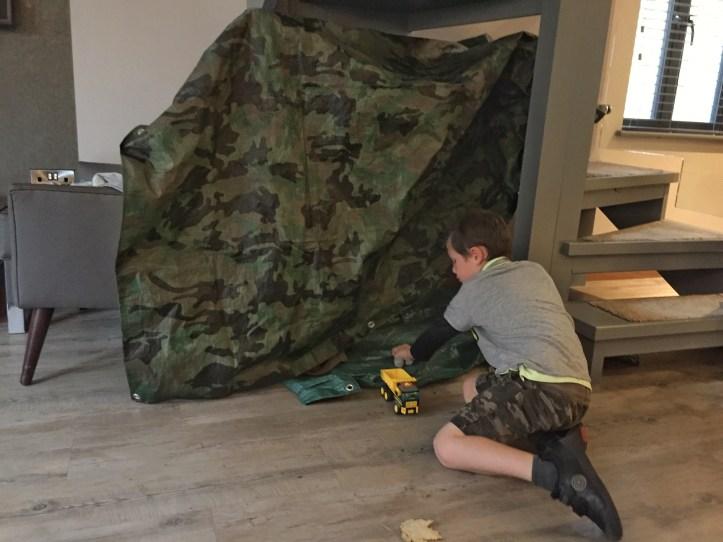 BE Wild den building kits - Beyond escapes luxury lodges in Devon