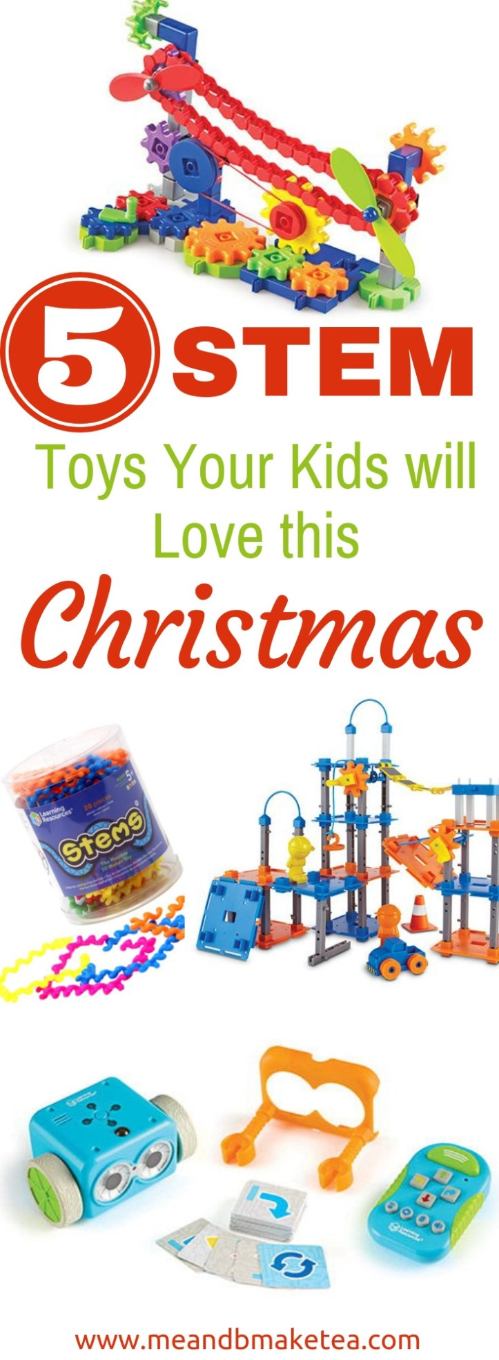 5 STEM Toys your Kids Will love This Christmas!