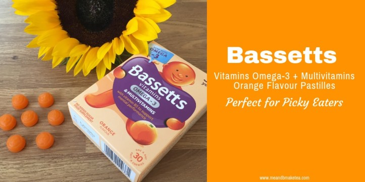 Bassetts Vitamins Omega-3 + Multivitamins Orange Flavour Pastilles are great for fussy eaters if you're unsure they're getting everything they need!