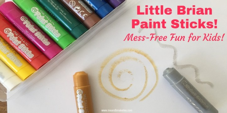 mess free fun with little brians paint stick packs