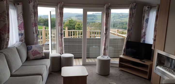 Parkers Farm Holiday Cottages & Caravans in Devon lounge area