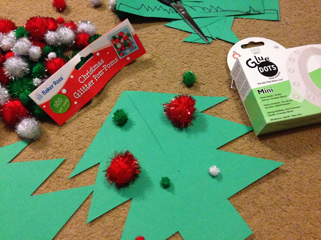 3d christmas tree craft family blogger activity