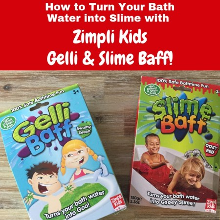 How to Turn Your Bath Water into Slime with Zimpli Kids Gelli and Slime Baff!