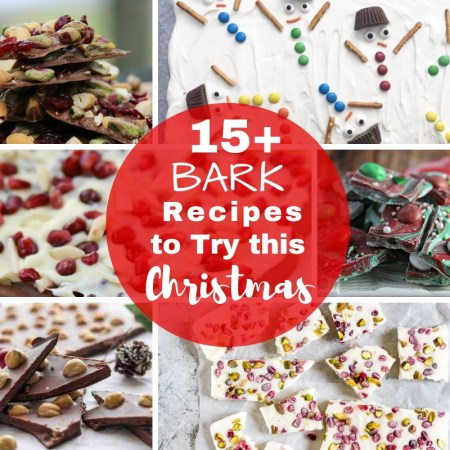 Bark recipes that are easy to make for Christmas