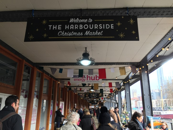 Bristol harbourside christmas market