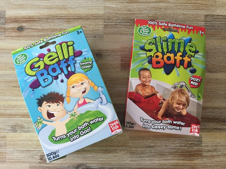 Zimpli kids gelli and slime baff reviews for bathtime