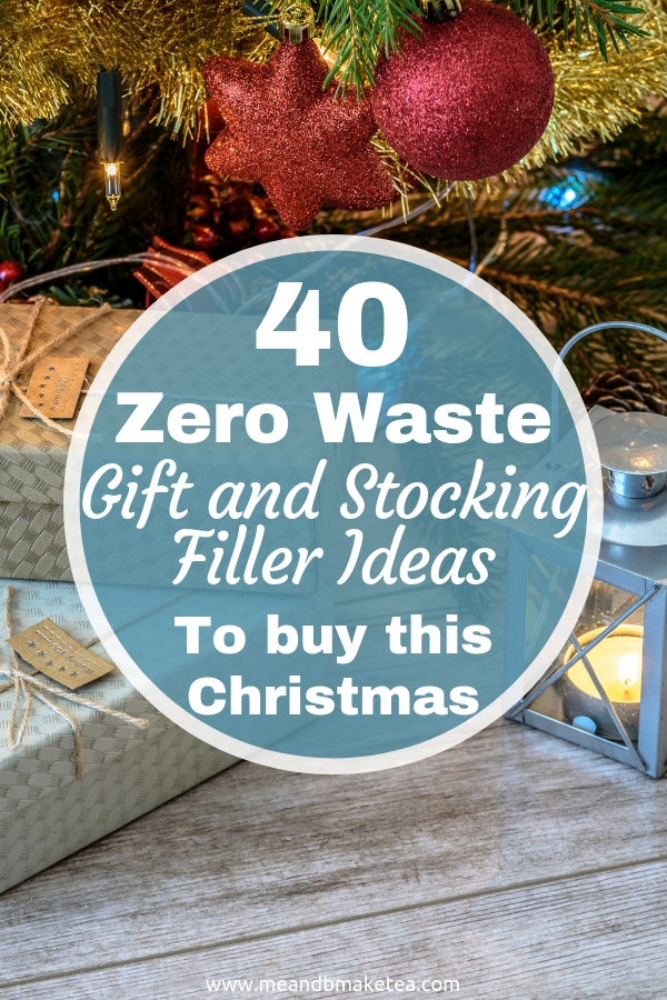 40 Consumable Gift and Stocking Filler Ideas - perfect for a Zero Waste Christmas!