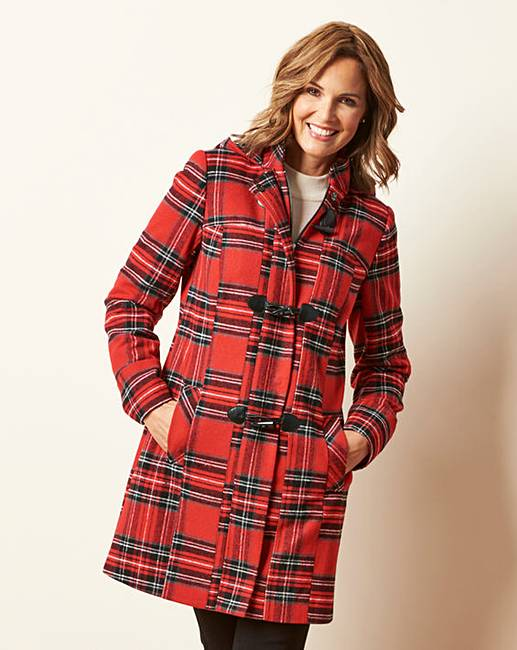 winter warmers red coat