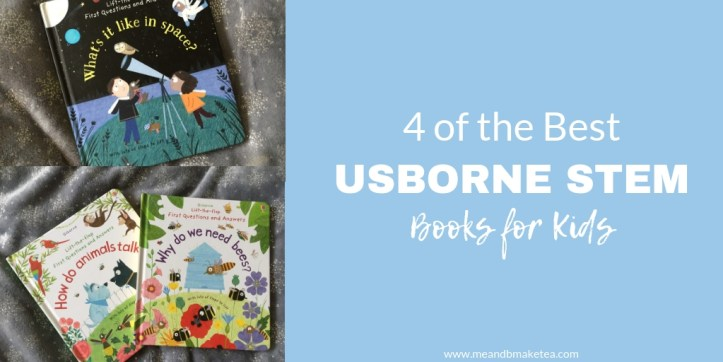 Usborne stem books that are great for kids this Christmas