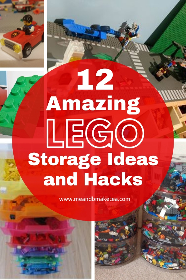 lego storage ideas and hacks for keeping lego organised and tidy this year