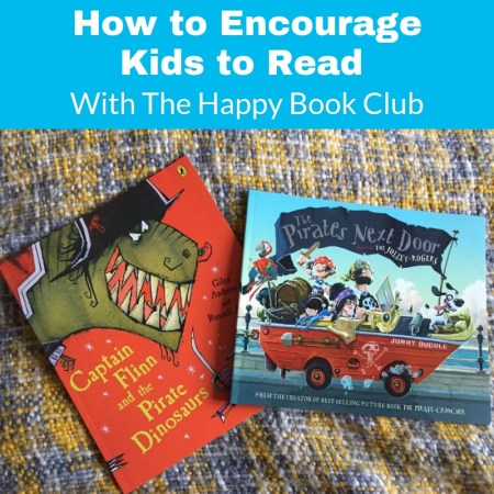 How to encourage children to enjoy reading - with the happy book club