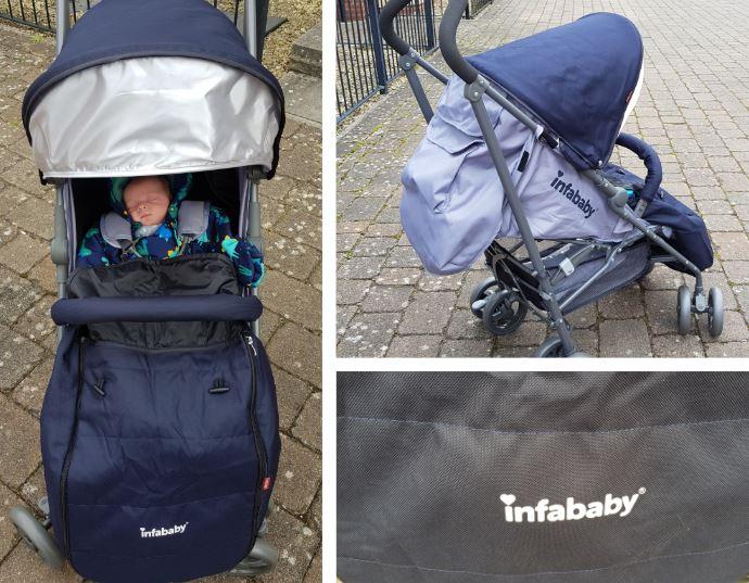infababy halo pram stroller review