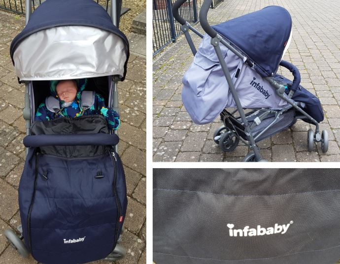 infababy halo pram stroller review