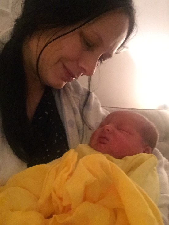 newborn baby - first night at home
