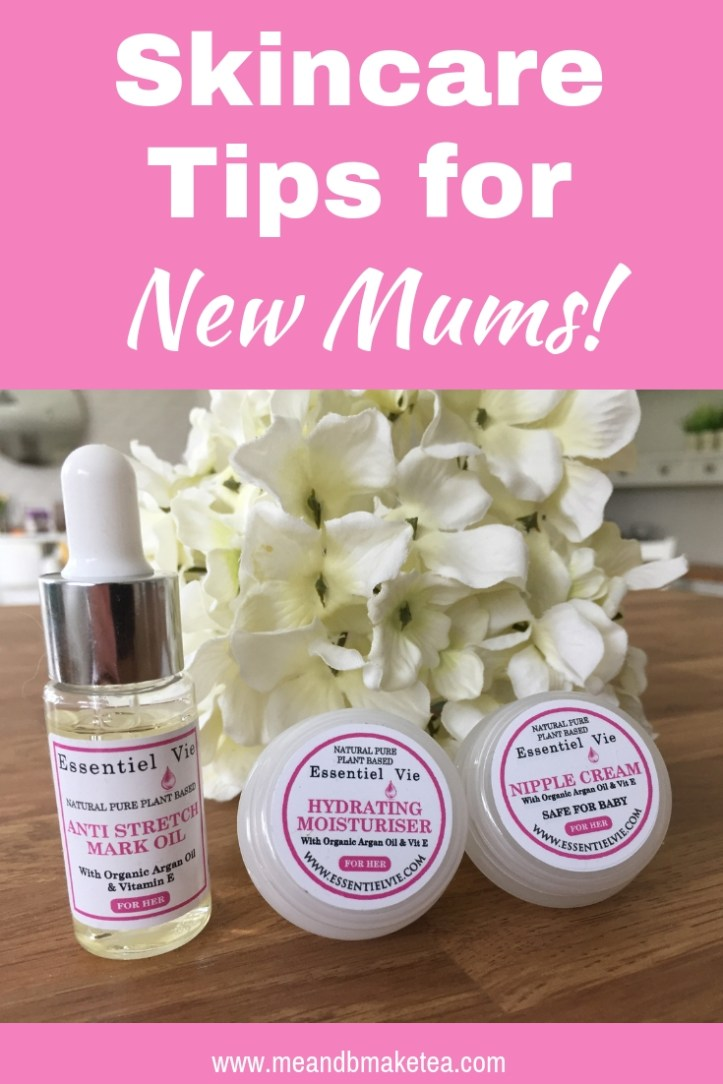 essentiel vie skincare for mums review