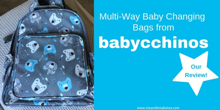 Babycchinos Backpack Changing Bags - Ideal for Out and About! (1)