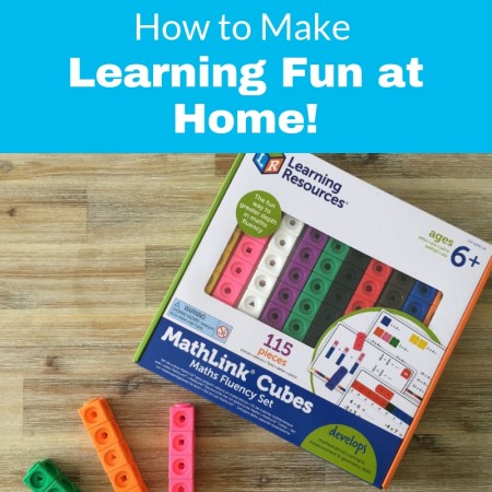 mathlink cubes review with learning resources