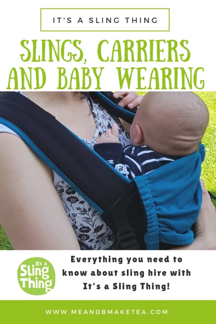 review of its a sling thing hire for baby carriers