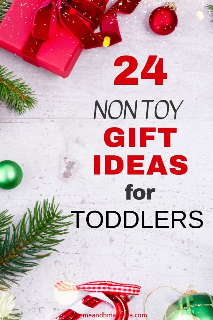 Non toy gift ideas for two year olds and toddlers for pinterest