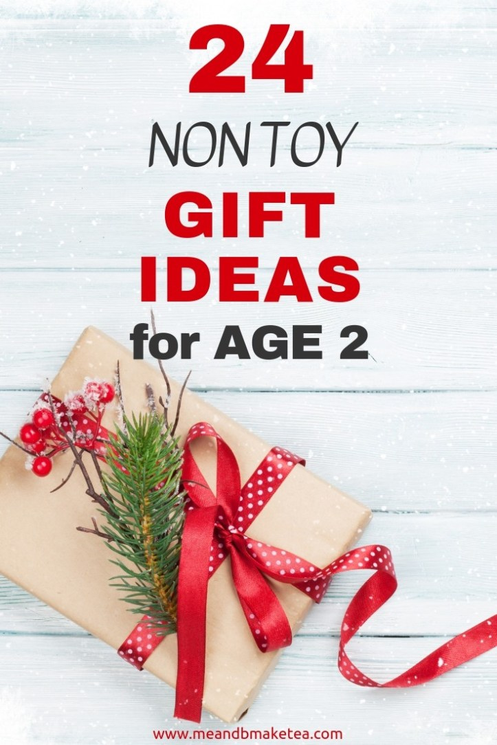 Non toy gift ideas for two year olds and toddlers for pinterest 2