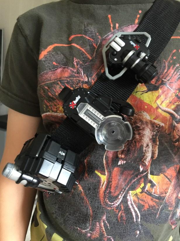 SpyX Micro Gear Set review - utility belt close up