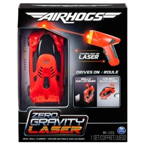 air hogs zero gravity remote control car - toy review - car in box