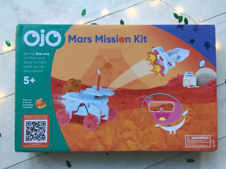 Ojo mission to mars box - for Christmas gift ideas