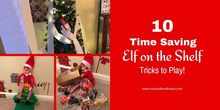time saving elf on the shelf tricks to play this december - thumbnail for social media twitter