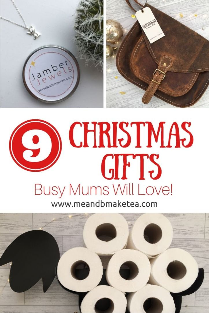 9 christmas gift ideas for busy mums - unique gifts - thumbnail for social