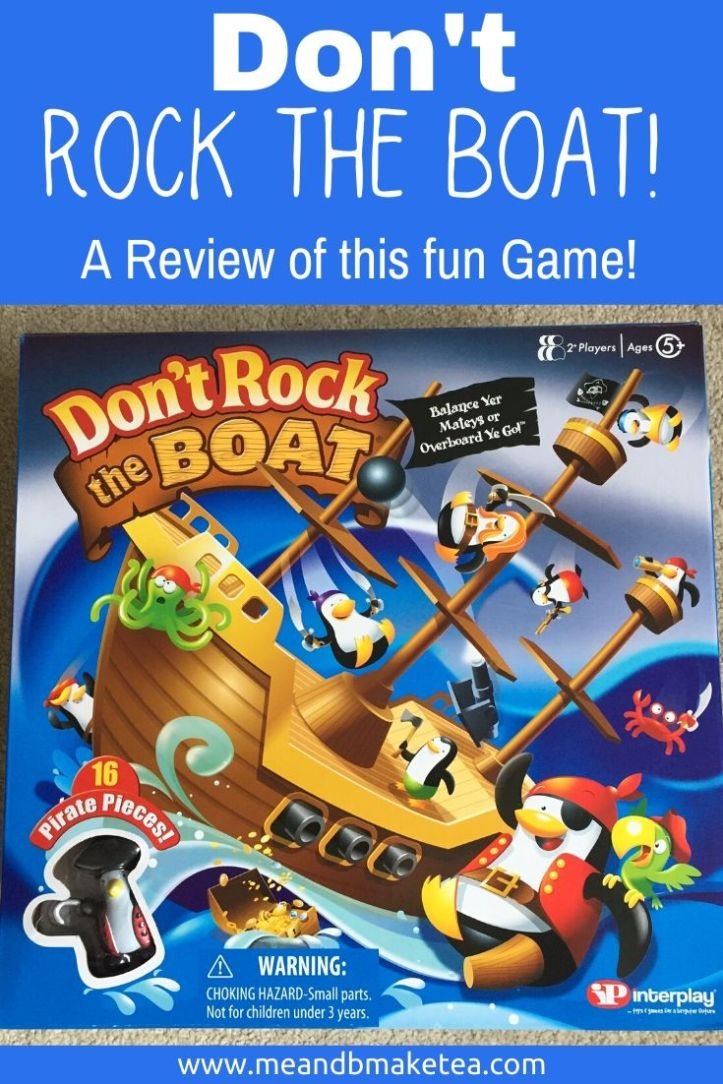 dont rock the boat thumbnail for pinterest