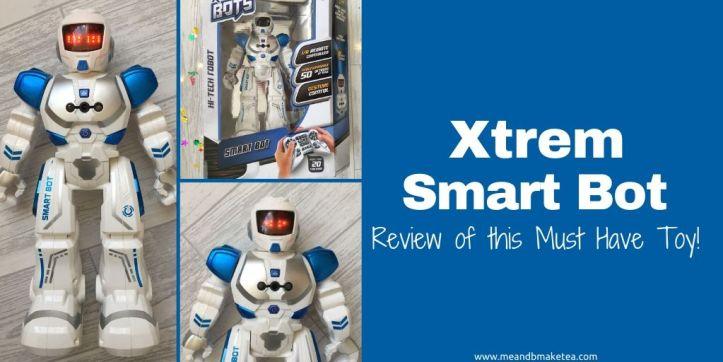 Xtrem smart bot robot toy thumbnail image twitter